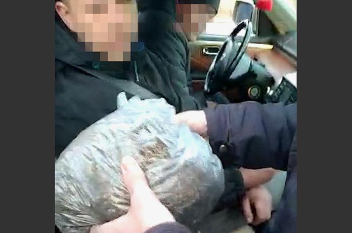 Задержание наркозаготовителей в Белово