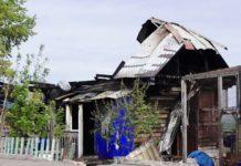 В Бачатском сгорел частный жилой дом, 27 мая 2019