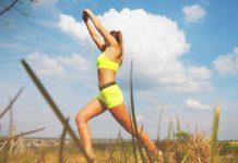Женщина, зарядка, спорт, физкультура