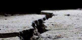 Земля, провал, трещина