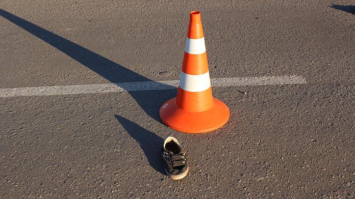 В третьем микрорайоне Белово в ДТП попал ребенок-велосипедист