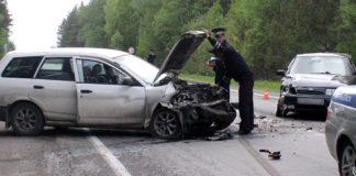 В Гурьевском районе пьяный водитель протаранил встречную машину