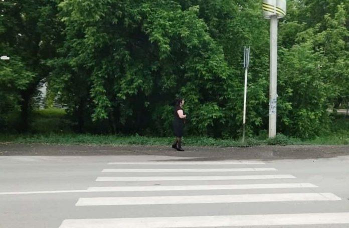 Зебра, пешеходный переход, 3 микрорайон, Белово