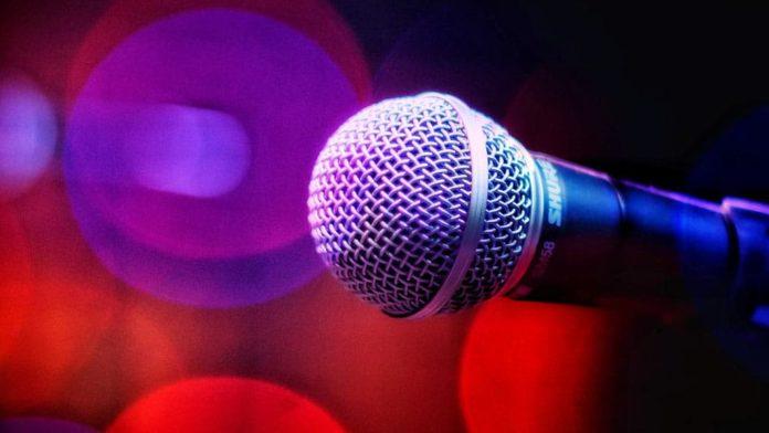Микрофон, музыка, звук, песня