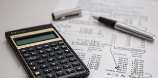 Калькулятор, счет, оплата, ЖКХ