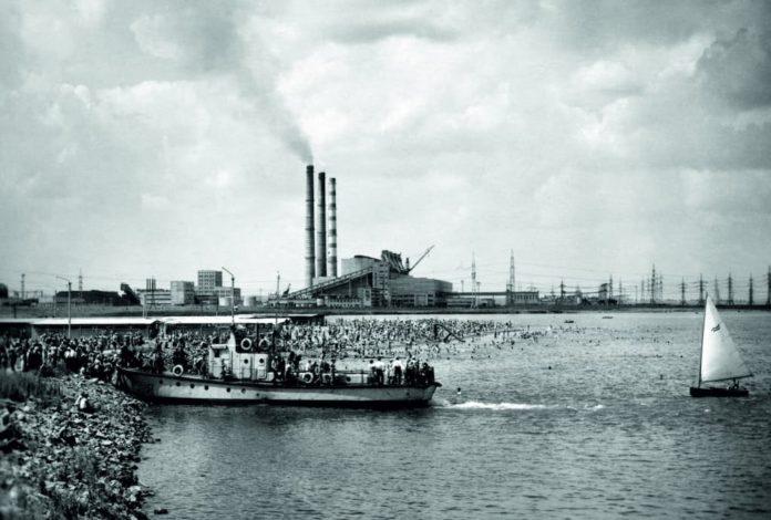 Электростанция на берегу моря. Беловской ГРЭС — 55!
