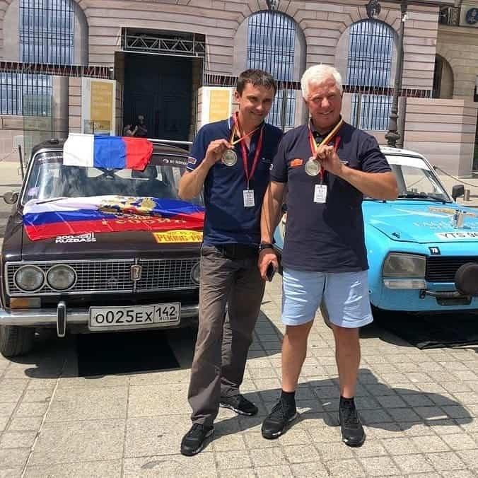 Ралли «Пекин-Париж» Экипаж из Кузбасса в десятке победителей