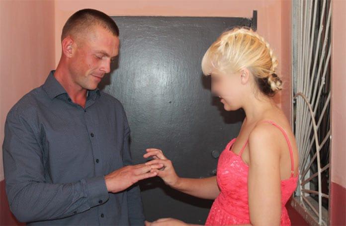 В Белово в исправительной колонии строгого режима № 44 сыграли пять свадеб, 15 августа 2019 г