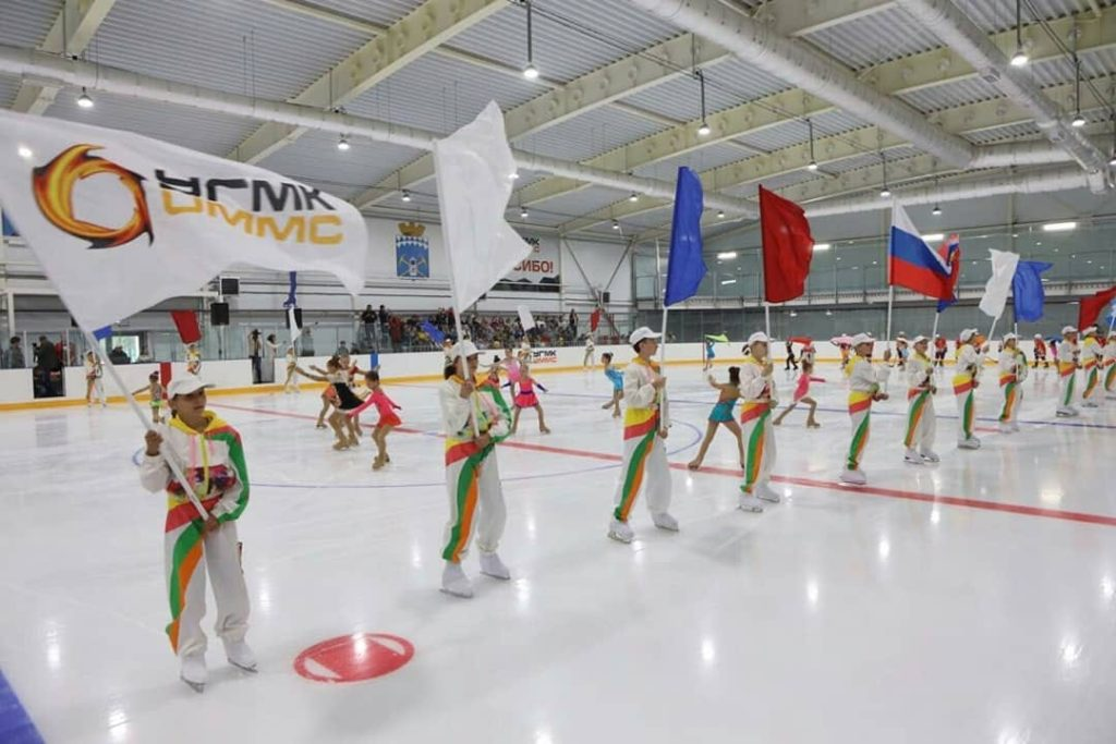 Открытие ледового дворца в Бачатском, 22 августа 2019 г