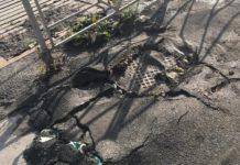 В Белове уложили асфальт поверх мусора