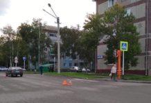 В Бачатском сбили женщину, 10 сентября 2019 г