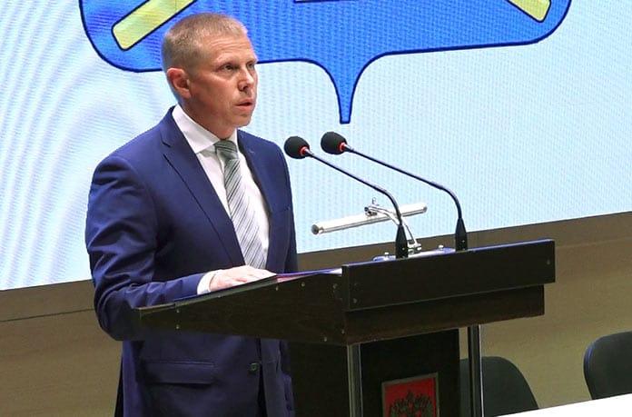 Алексей Курносов, инаугурация 17 сентября 2019 г