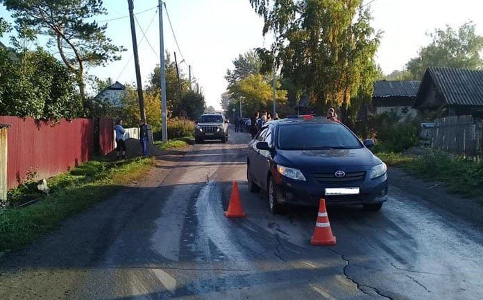 В Бабанаково в ДТП пострадал несовершеннолетний пешеход