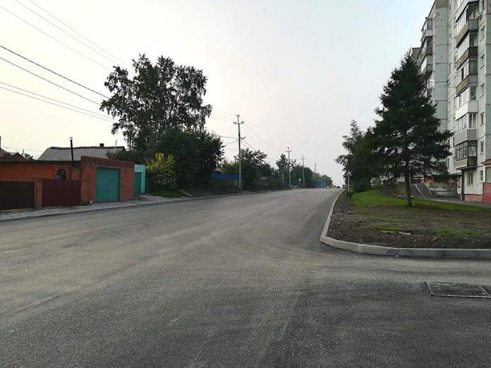 Улица Октябрьская, Белово