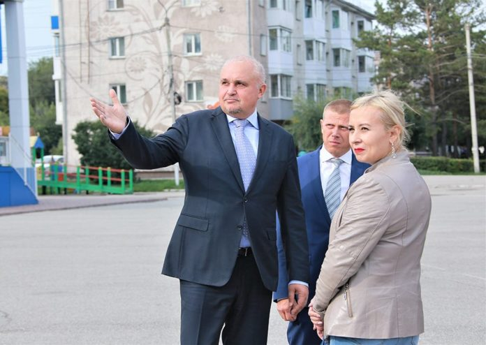 Сергей Цивилев в Белово, 19 сентября 2019 г