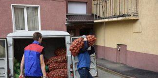 В Белове началась выдача овощных наборов