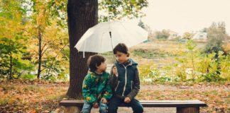 Осень, дождь, дети