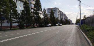 Улица Октябрьская после ремонта, Белово