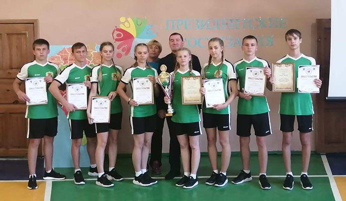 Школьники Беловского района в десятке лучших на «Президентских состязаниях»