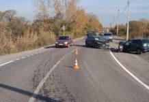ДТП на дороге Белово - Новый Городок, 10 октября 2019 г