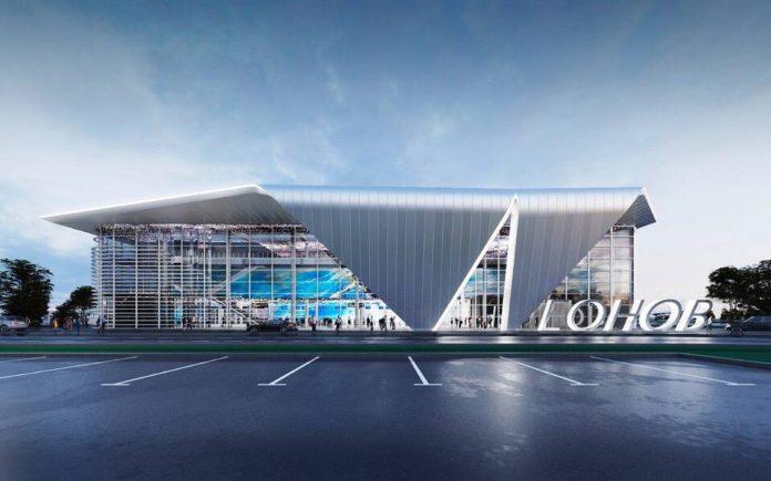 Проект нового терминала имени Алексея Леонова в Кемерове