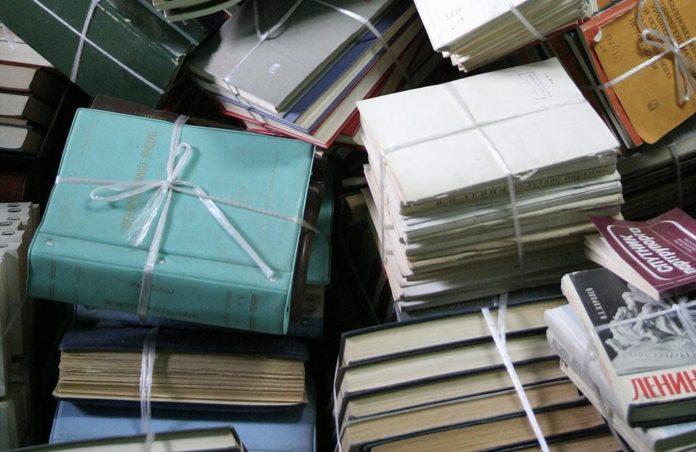 Макулатура, книги