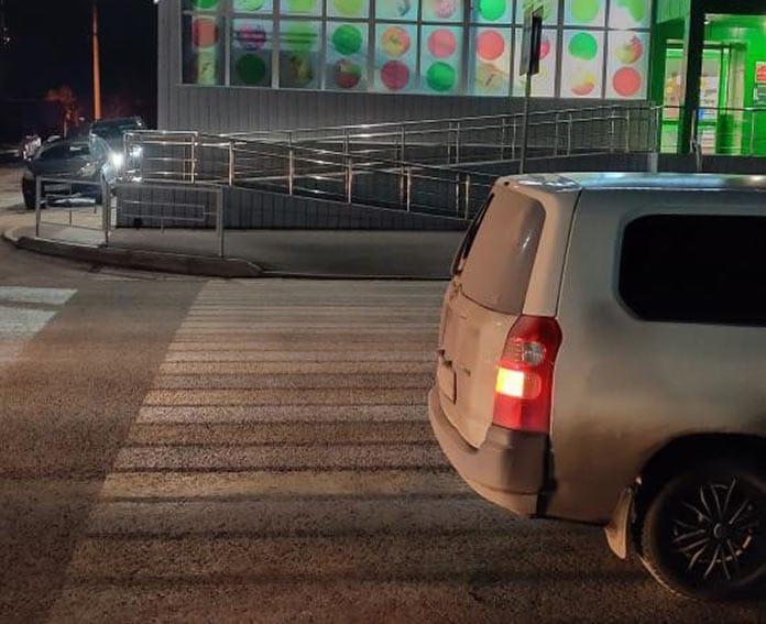 В Белово ребенок пострадал в ДТП на улице Чкалова, 17 октября 2019