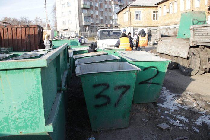 Установка мусорных контейнеров в Белово