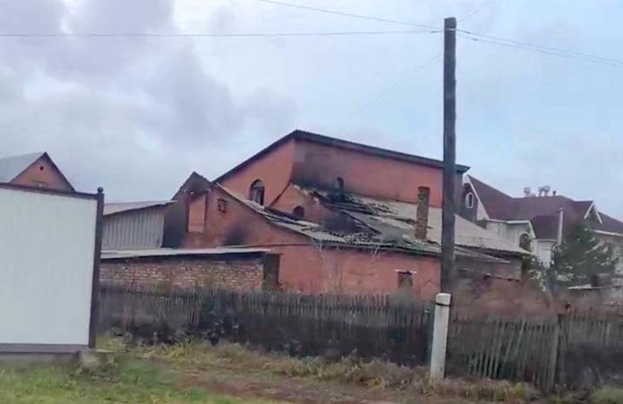 Пожар в Белово, ул. Геодезическая, 29 октября 2019 г