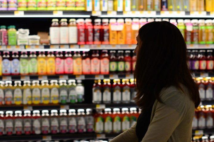 покупки, магазин, женщина