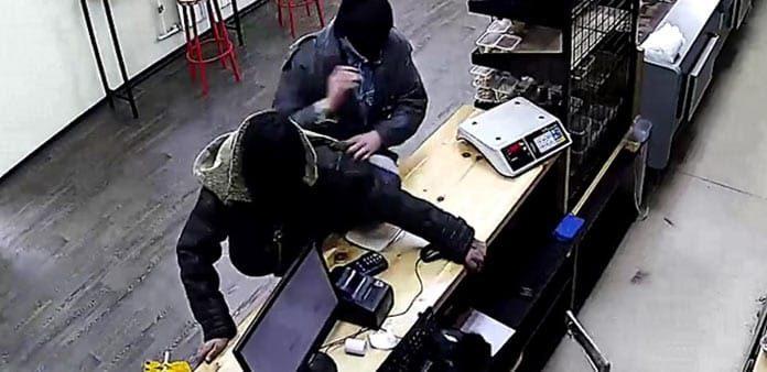 Ограбление магазина в поселке Инской