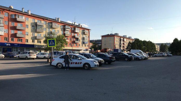 Привокзальная площадь, Белово