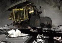 БелАЗ рухнул с15-метровой высоты наразрезе «Кийзасский» вМысках, 19ноября 2019г