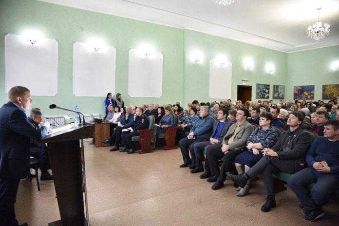 Встреча с общественностью, Белово, Алексей Курносов
