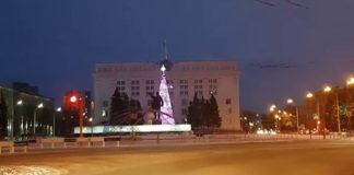 В Кемерове установили ёлку за 18 миллионов рублей