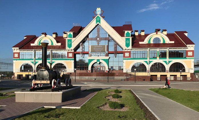 Железнодорожный вокзал, Белово