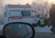 ДТП со«скорой» надороге Белово-Гурьевск, 2декабря 2019г