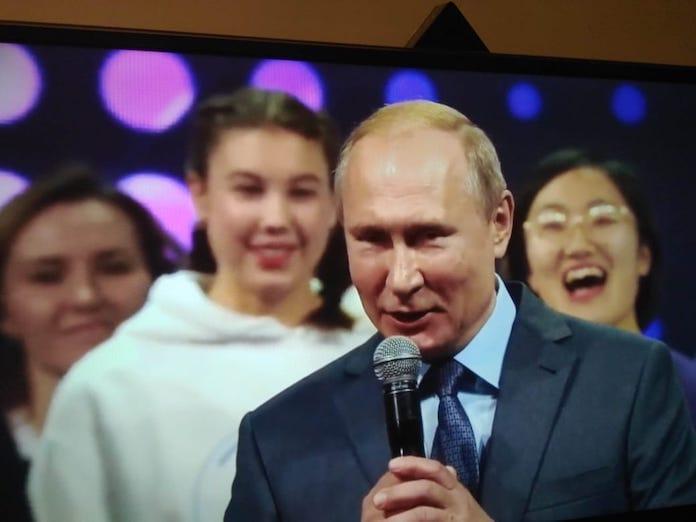 Эвелина Полянская нафоруме «Добровольцы России 2019», Сочи, 5декабря 2019