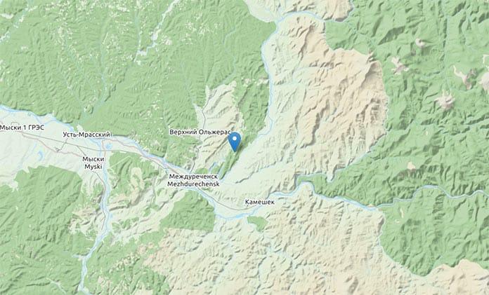Землетрясение Междуреченск, 17 декабря в 3:55 ночи
