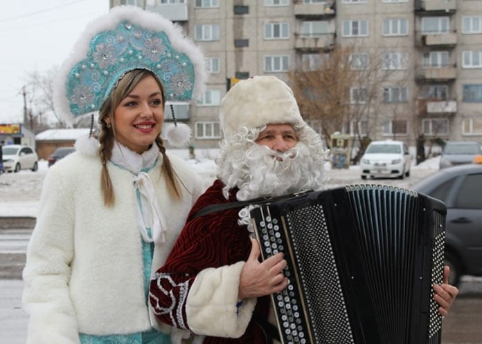 Праздник в Белово