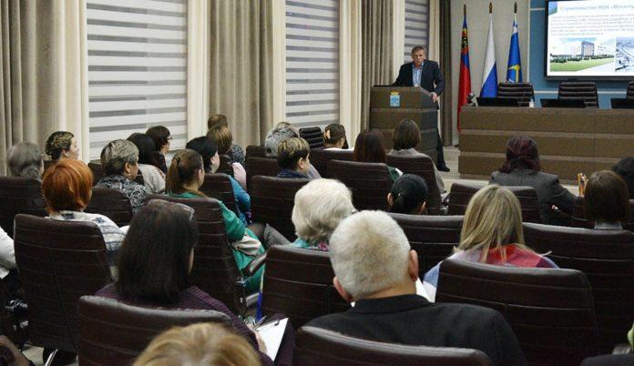 Встреча с общественностью, Курносов