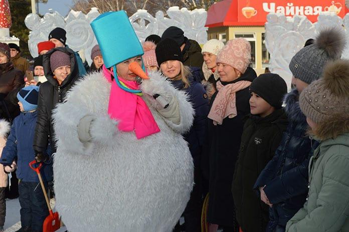 В Новый год вместе, Белово, 2020