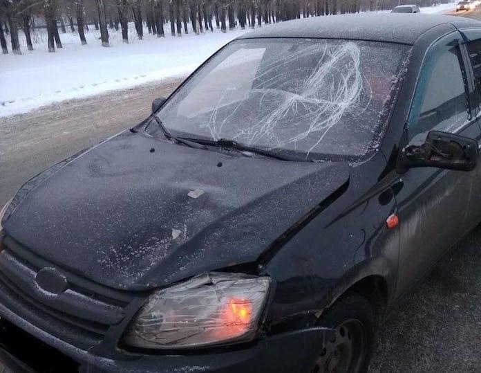 ДТП Белово. В Колмогорах сбили пожилую женщину, 14 января 2020 г