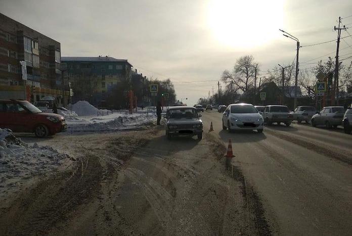 ДТП Белово. На улице Октябрьской сбили женщину, 14 января 2020 г