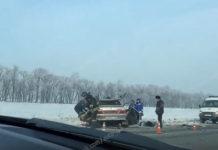 Двое человек погибли в ДТП на автодороге «Белово-Гурьевск», 22 января 2020 г