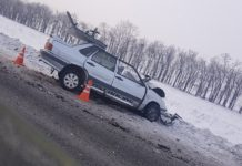 ДТП на автодороге «Белово-Гурьевск», 22 января 2020 г