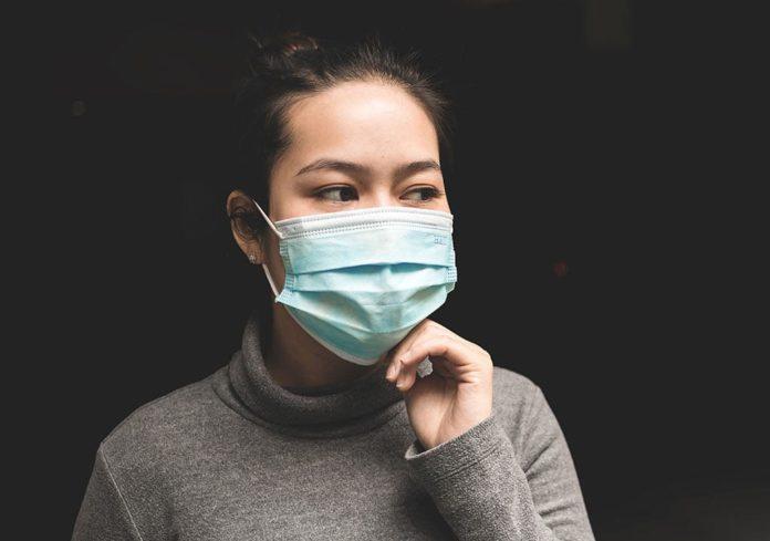маска, женщина