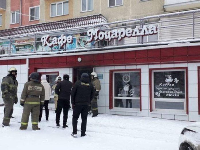 Кафе Моцарелла в Белово заполнилось дымом, 10 февраля, 20202 г