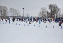 Лыжня России 2020 в Белово, стадион Энергетик, пос. Инской, 9 февраля 2020 г