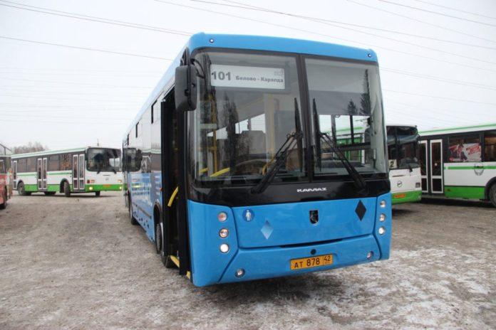 Новый автобус вышел на сельский маршрут №101 – «Белово – Пермяки – Каралда»